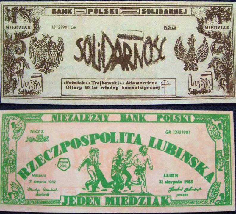 1 miedziak Bank Polski Solidarnej