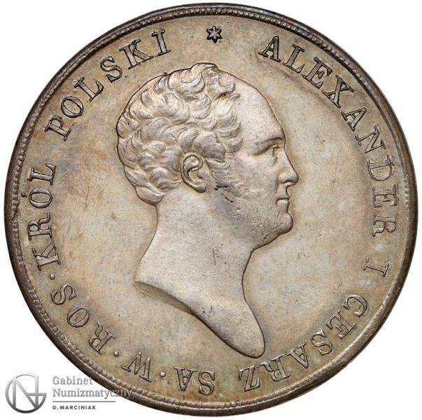 Królestwo Polskie 10 złotych 1824 Aleksander I