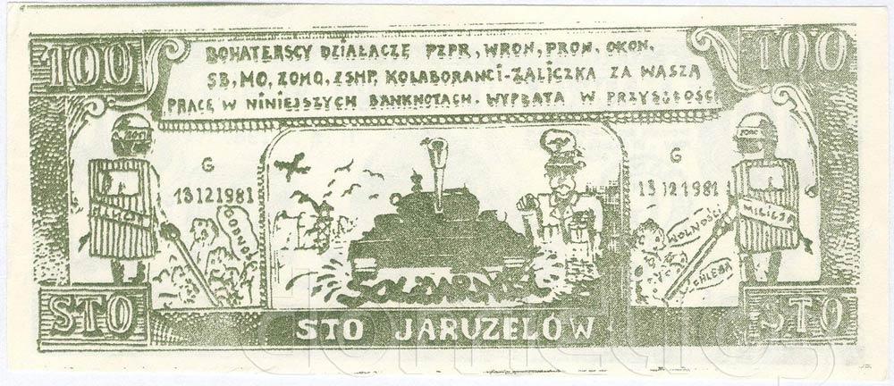 Rewers 100 Jaruzelów