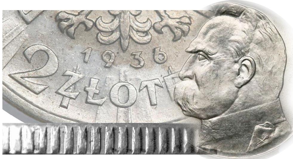 2 złote 1936 Piłsudski