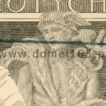 Detal próby kolorystycznej 1 banknotu 20 złotych 1926