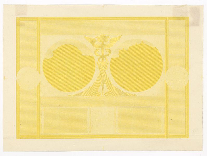 Próba kolorystyczna 7 banknotu 20 złotych 1926