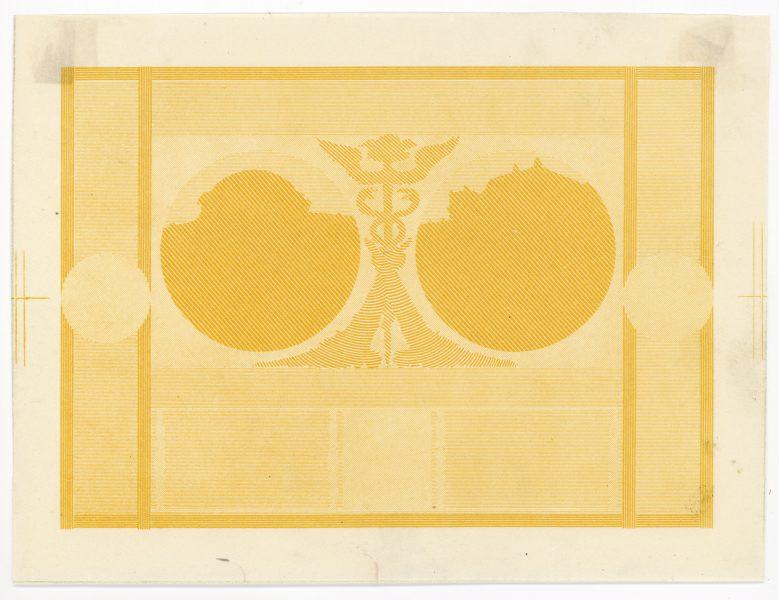 Próba kolorystyczna 8 banknotu 20 złotych 1926