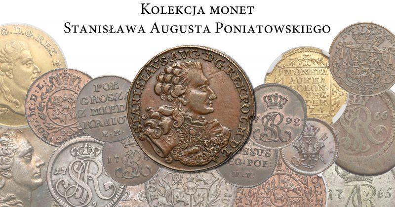 Kolekcja monet Stanisława Augusta Poniatowskiego na 5 Aukcji Numizmatycznej GNDM