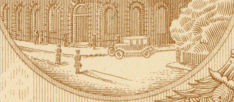 Druga warstwa banknotu 50 złotych 1925