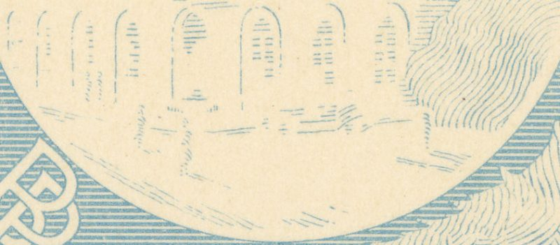 Czwarta warstwa banknotu 50 złotych 1925
