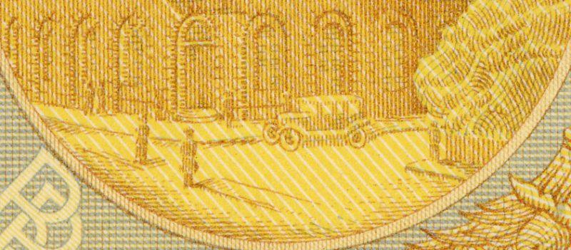 Piąta warstwa banknotu 50 złotych 1925