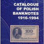 Okładka angielskiego wydania Catalogue of Polish Banknotes 1916-1994 Czesława Miłczaka wydanie 2000