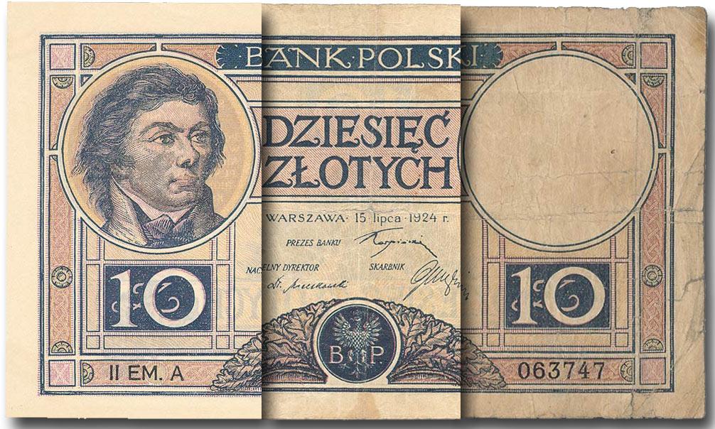 Definicje stanów zachowania banknotów