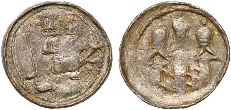 Denar królewski Bolesława II Śmiałego odmiana z literą Z