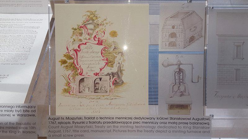 Dokumenty związane z historią Mennicy Warszawskiej