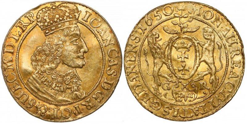 Dukat Gdańsk 1650