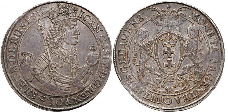 Dwutalar Gdańsk 1650