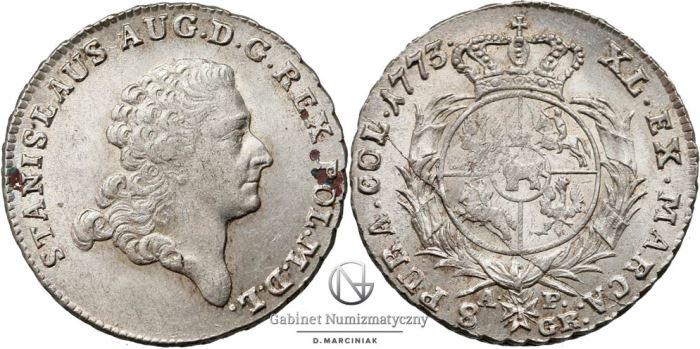 Dwuzłotówka 1773 Poniatowskiego