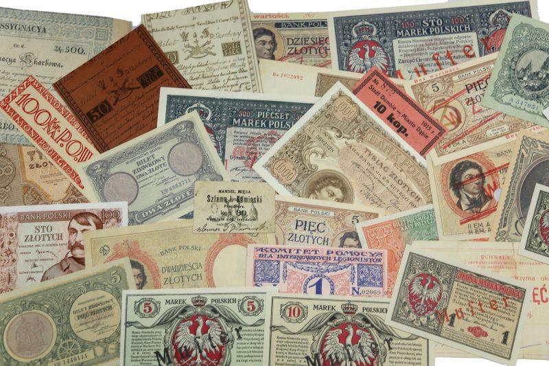 Skup i wycena starych banknotów