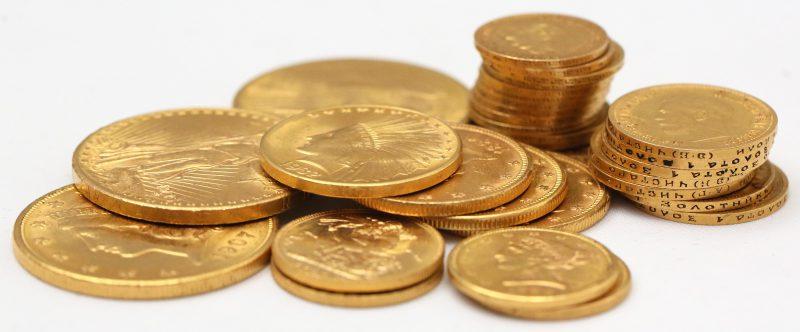 Skup złotych monet