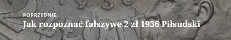 Jak rozpoznać fałszywe 2 złote 1936 z Józefem Piłsudskim