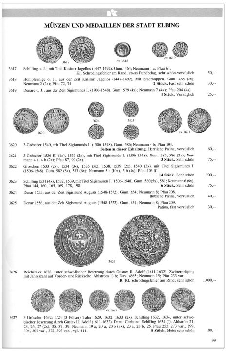 Strona 99 katalogu 76 aukcji Kuenker