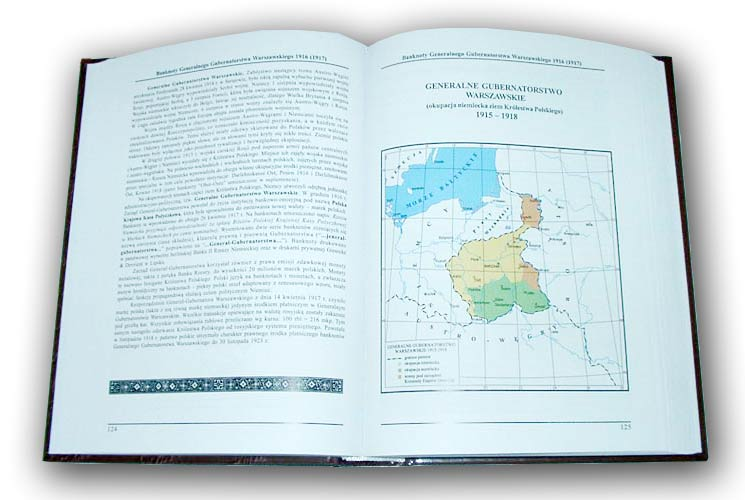 Strona 124 Katalogu polskich pieniędzy papierowych od 1794 Czesława Miłczaka wydanie 2002