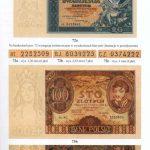 Strona 221 Katalogu polskich pieniędzy papierowych od 1794 Czesława Miłczaka wydanie 2005