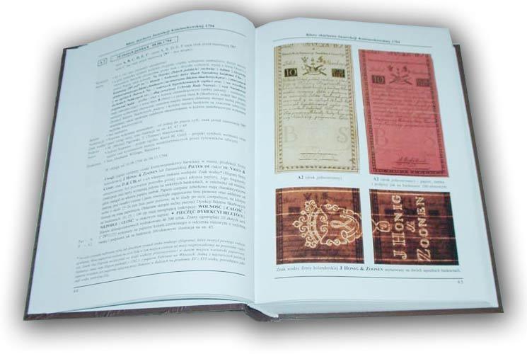 Strona 44 Katalogu polskich pieniędzy papierowych od 1794 Czesława Miłczaka wydanie 2002
