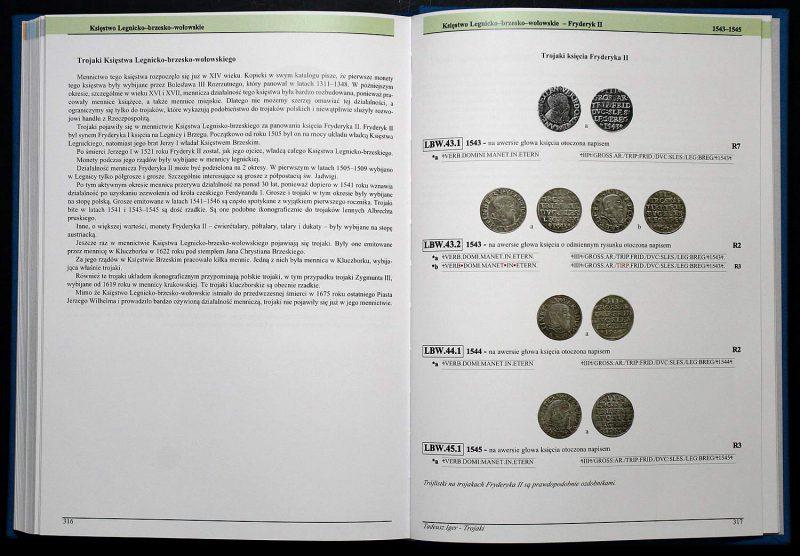 Strona 316 Katalogu Trojaków Polskich Tadeusza Igera
