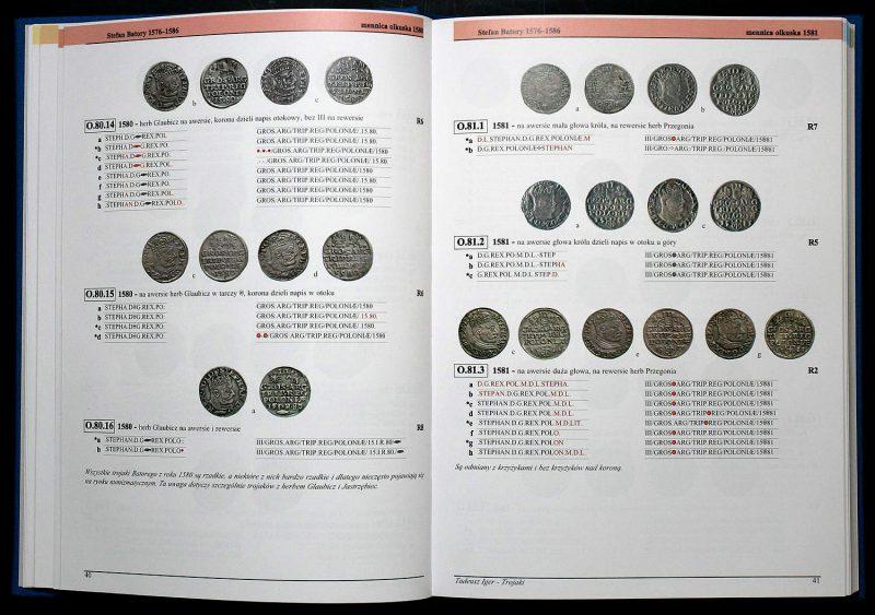 Strona 40 Katalogu Trojaków Polskich Tadeusza Igera