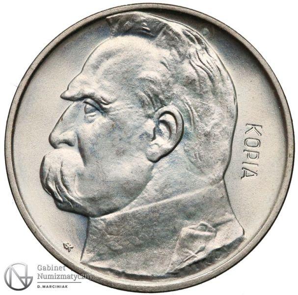 Kopia 2 złote 1936 Piłsudski - Mennica Warszawska - rewers