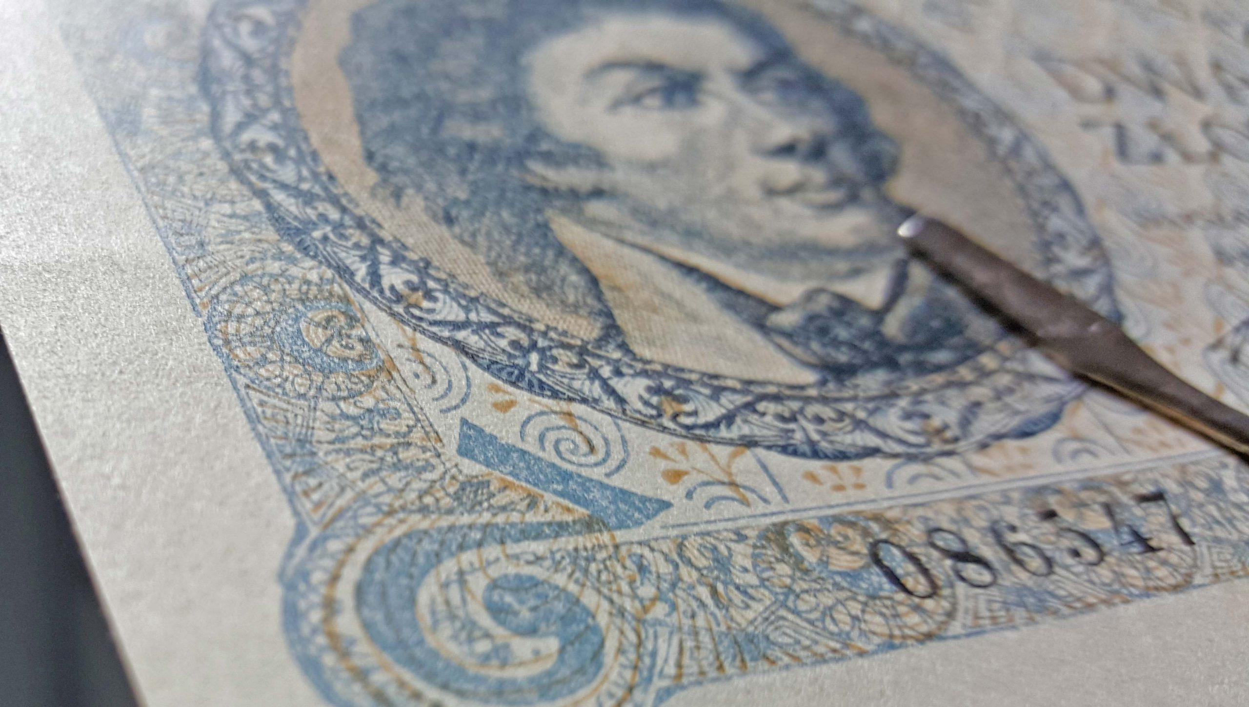 Ocena stanu zachowania banknotu