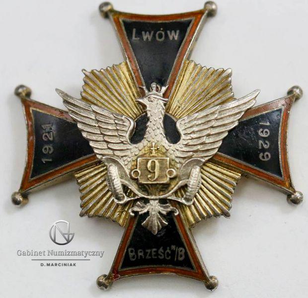 Odznaka 9 Dywizjonu Samochodowego