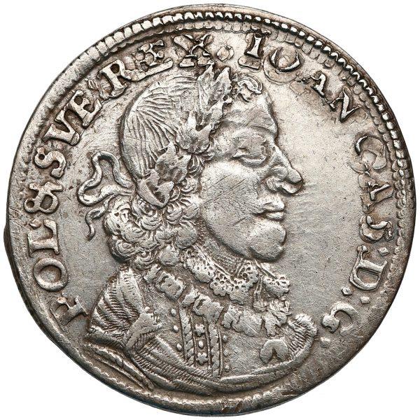Awers Ort Bydgoszcz 1651 z bydgoskiej mennicy