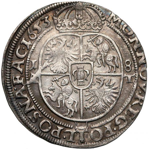 Rewers Ort Poznań 1653