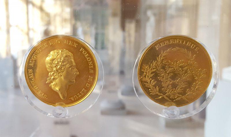 Złoty medal Merentibus Zasłużonym Stanisława Augusta Poniatowskiego