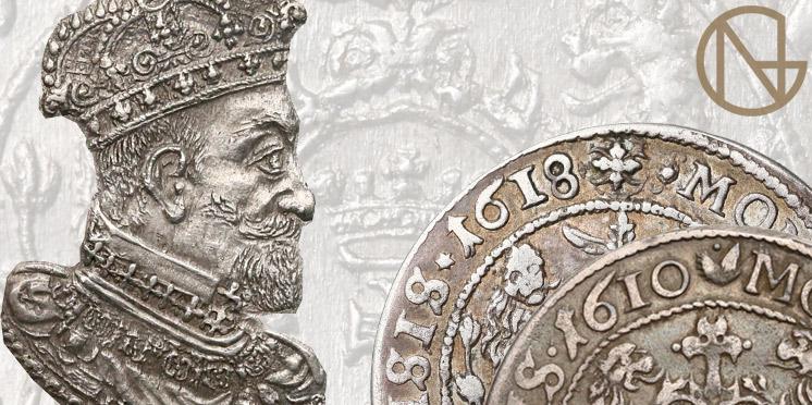 Rzadkie orty gdańskie Zygmunta III Wazy