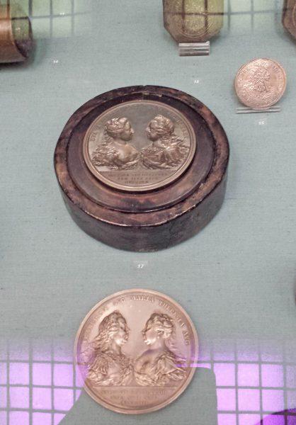 Stempel do medalu Marii Teresy