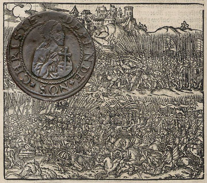 Szeląg z czasów Oblężenia Gdańska