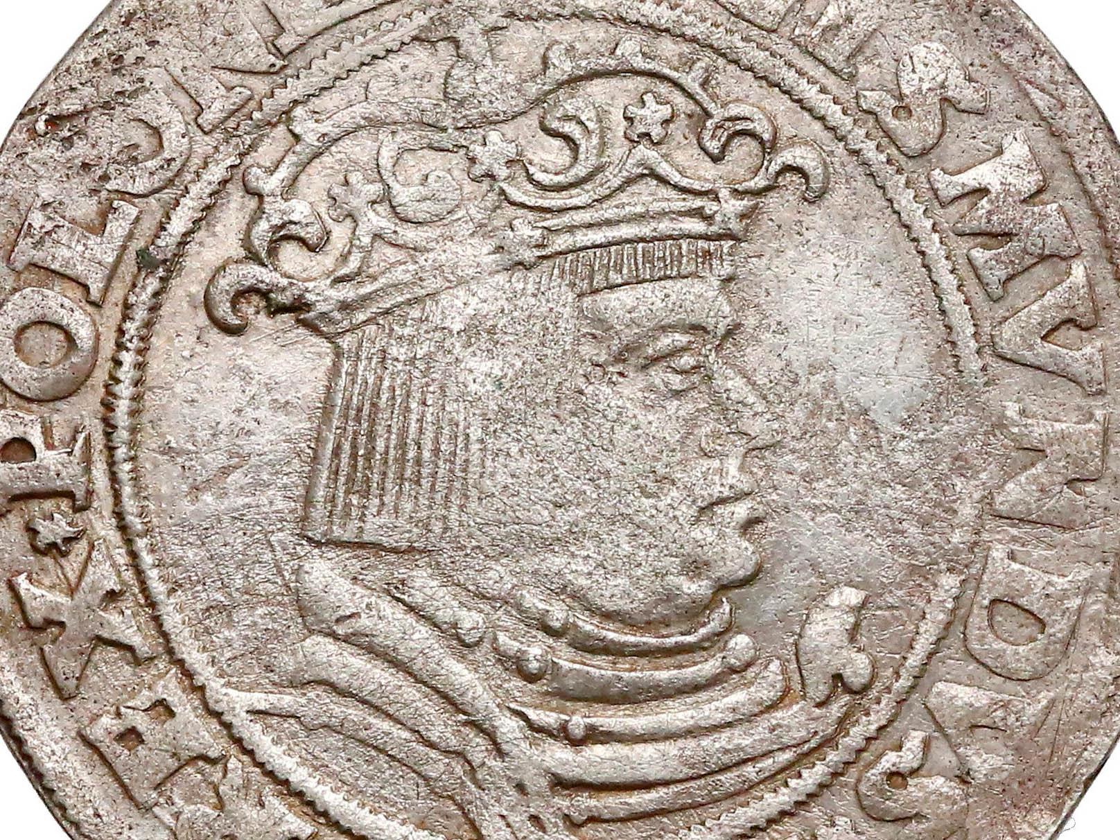 Pierwszy polski Trojak Kraków 1528