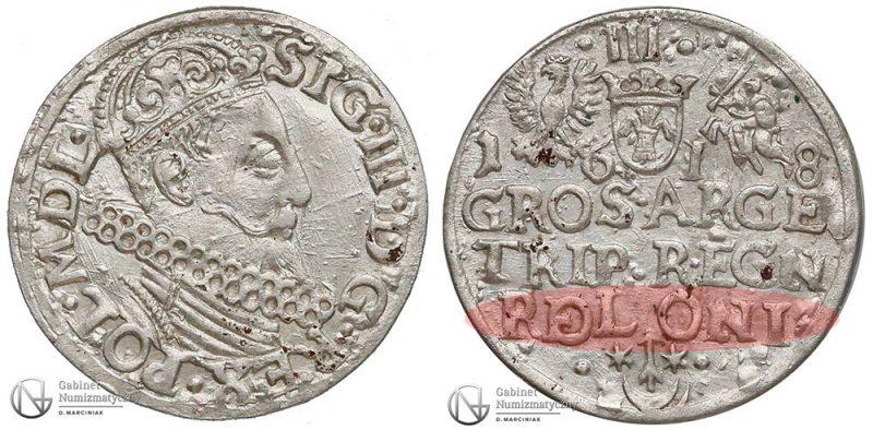 Trojak Kraków 1618 ROLONI