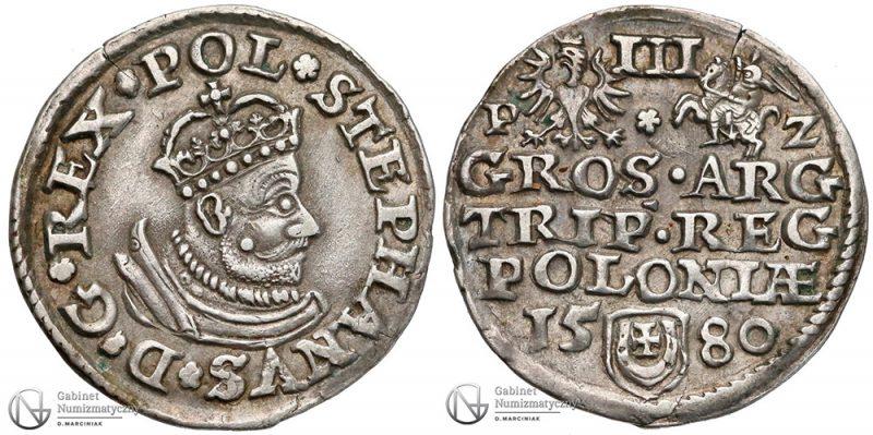 Trojak Olkusz 1580
