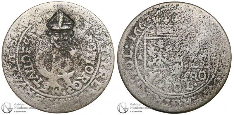 Tymf 1663 z prywatną kontramarką