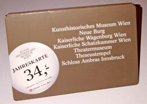 Roczna wejściówka do wiedeńskich muzeów